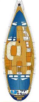 Comar Genesi 43 - layout interno