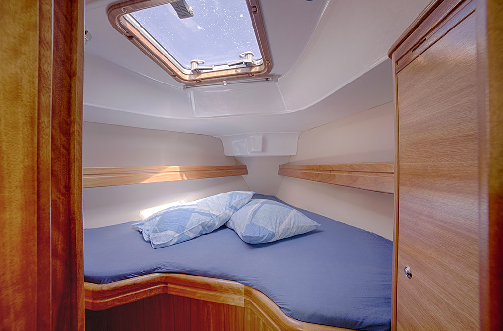 Bavaria 30 Cruiser - cabina di prua