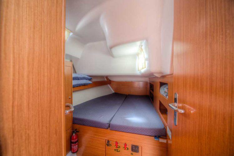 Bénéteau Cyclades 50.5 - cabina di poppa a tribordo