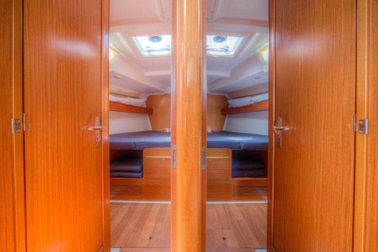Bénéteau Cyclades 50.5 - cabine di prua