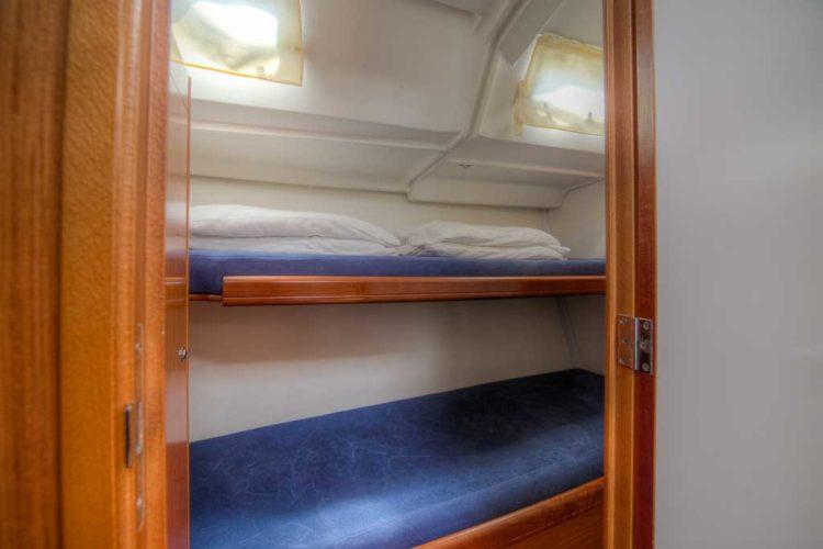 Bénéteau Cyclades 50.5 - cabina a castello