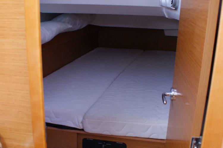 Jeanneau Sun Odyssey 409 - cabina di poppa a tribordo