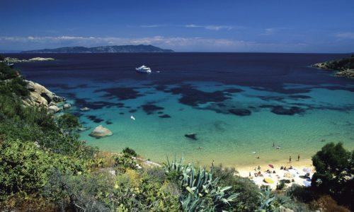 Isola del Giglio - spiaggia