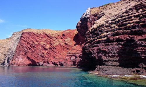 Isola di Capraia - Cala Rossa