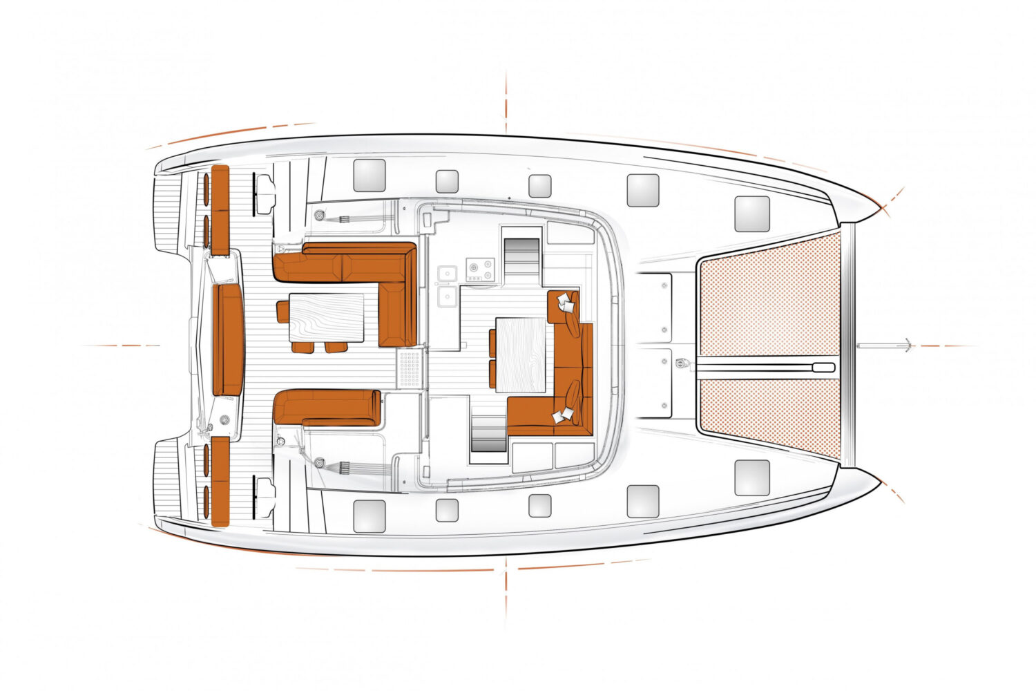 Excess 12 - layout saloon